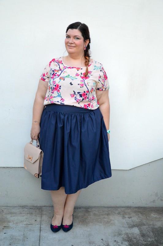 Outfit floreale e blu (6)
