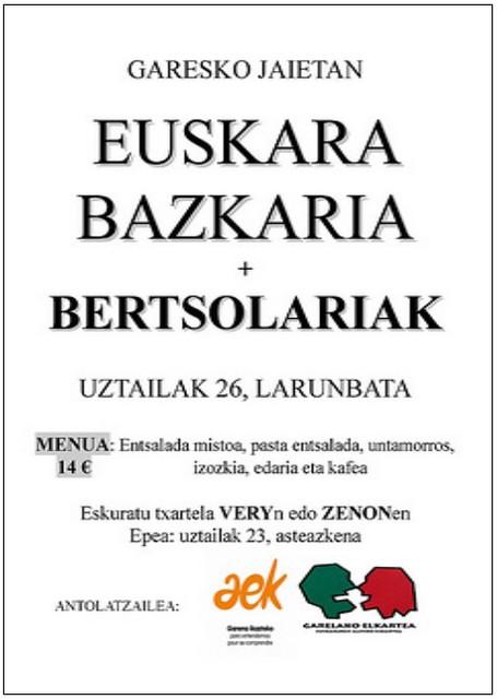 Bertso-bazkari