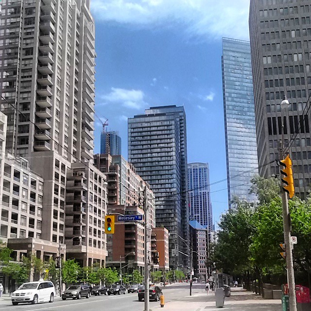 Towers of Bay Street #bay #baystreet #toronto