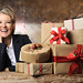 Jane Means Christmas Gift Wrapping by Jane Means