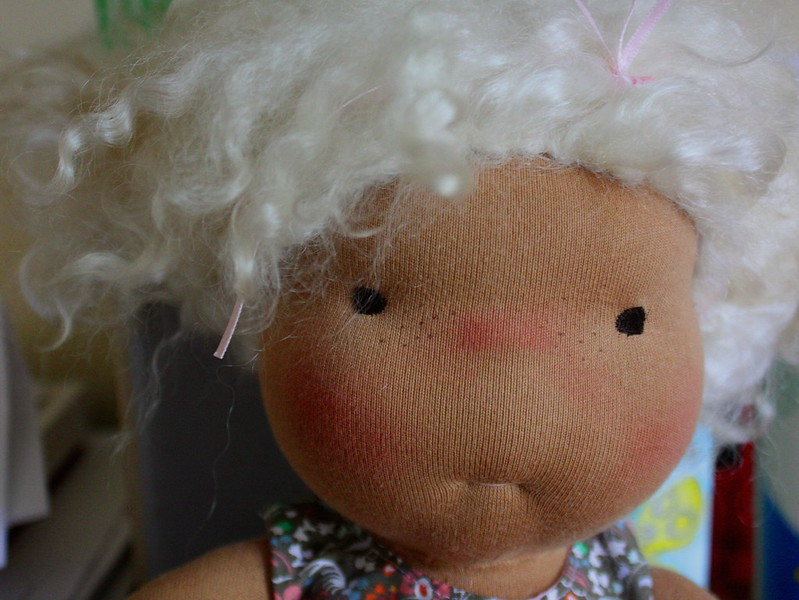 "Elodie a 18"" Natural doll"