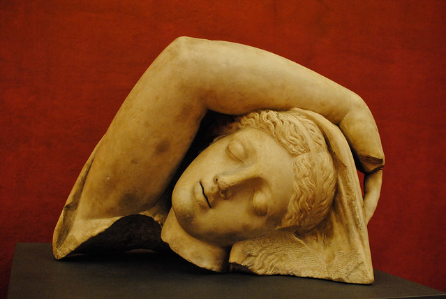 Sleeping Ariadne's Head
