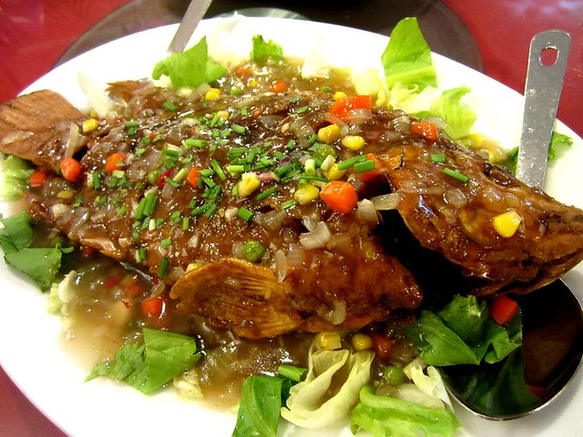Hock Chu Leu sweet and sour fish