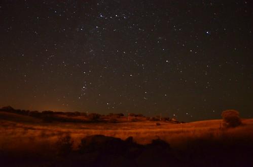 Noche en el Campo