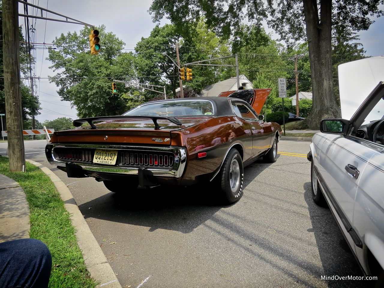 1973 Dodge Charger Rear