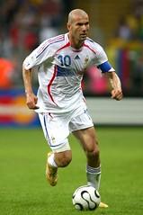 Name: Zinedine Zidane Age: 42 Nationality: French Job: Soccer Player Soccer Team: Real Madrid Nickname: Zizou