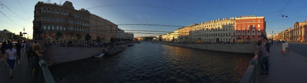 панорама снятая на iPhone 5S