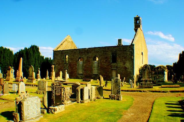 Kiltearn Old Parish Churchyard.