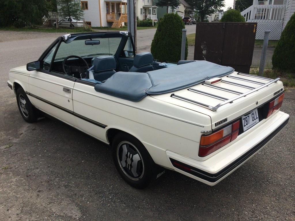 Renault Alliance DL 1987 14682515791_aacfcbd82f_b