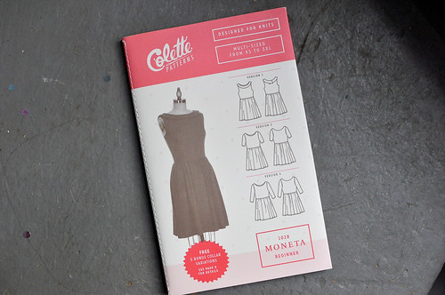 Colette : Grey Moneta Dress