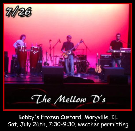 The Mellow D's 7-26-14