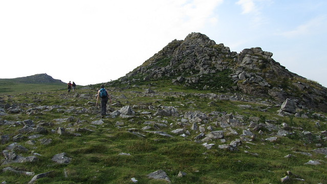 Approaching Leather Tor