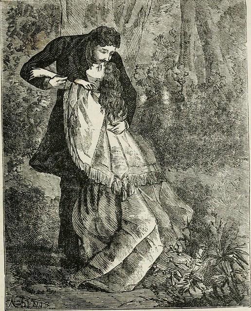 """Image from page 204 of """"L'étang des soeurs-grises"""" (1881)"""