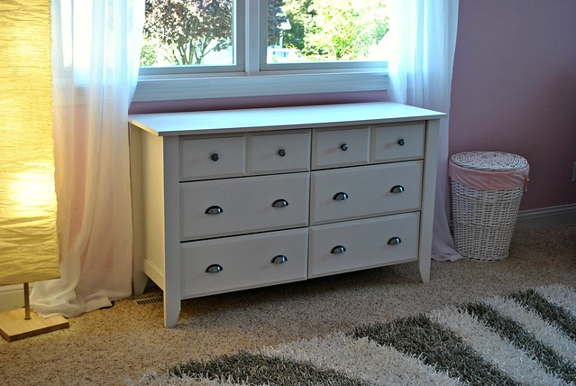 Shea's Nursery DresserChanging Table