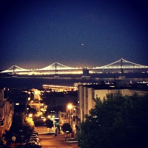#baybridge #sanfrancisco #kategoestocalifornia
