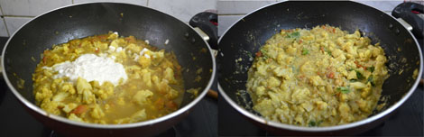cauliflower-kurma-South Indian style