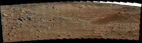 Curiosity sol 703 MastCam R - Hidden Valley