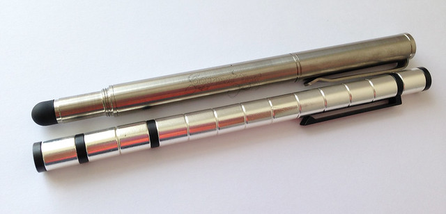 Review: @BIGiDESIGN Titanium Post Raw Pen + Stylus and Polar Magnetic Pen