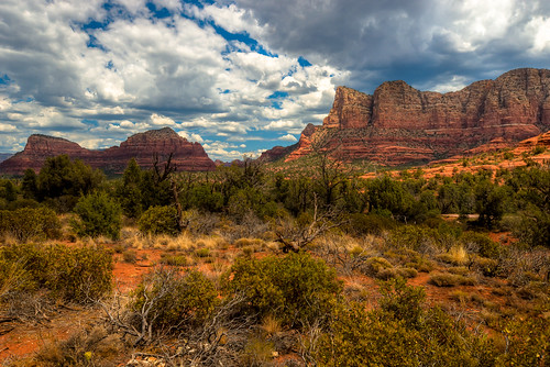 arizona usa landscape nikon day cloudy sedona redrock hdr d7000