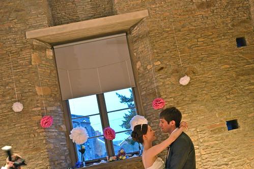 Abi and James' wedding