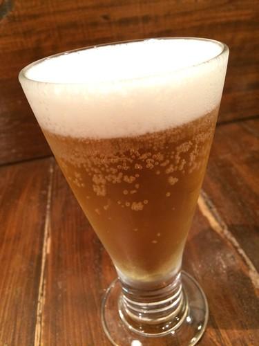 乾杯ビール30円!@めんこや