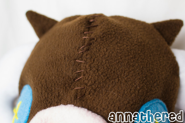 stuffed stuff: Plush Pyth hat