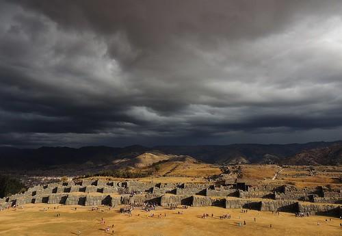 rain inca day cusco perú nubes andes worldheritage patrimoniodelahumanidad sacsayhuamán