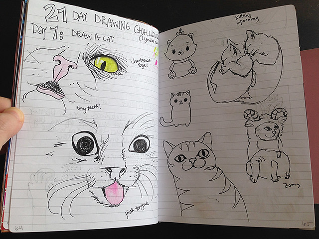 cat-doodles