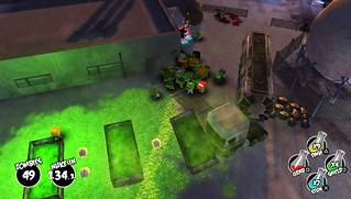 The Hungry Horde on PS Vita