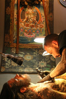 Fisherman tattoo club le shop de tatouage à Aix en provence