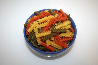 10 - Zutat Fusilli Tricolore / Ingredient fusilli tricolore