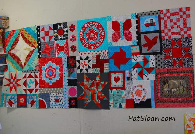 pat sloan birthday quilt aug 12 2014 pic 5