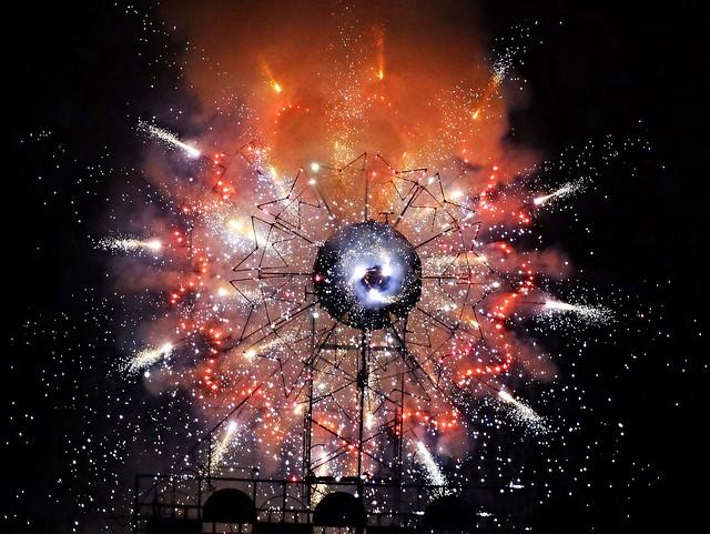 Butchart Gardens Fireworks - 2014