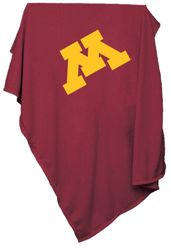 Minnesota Golden Gophers NCAA Sweatshirt Blanket