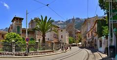 Avinguda de Cristófol Colom (Sóller, España)