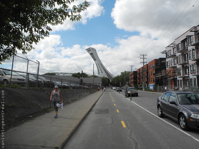 Olympic stadium from Benett street1
