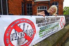 Cllr Moira Gittins Hands Off Preston