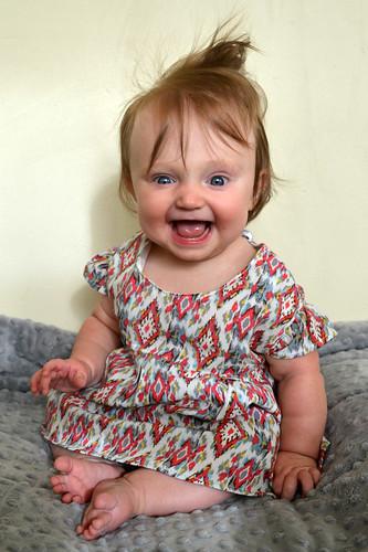 Ikat Baby Dress