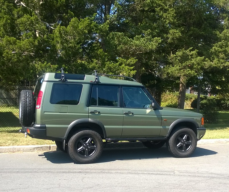 """Land Rover Discovery 1995 Full Width: Tire Size For 18"""" With 2-3"""" Lift."""