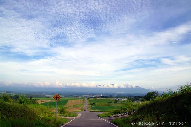 うろこ雲の空1