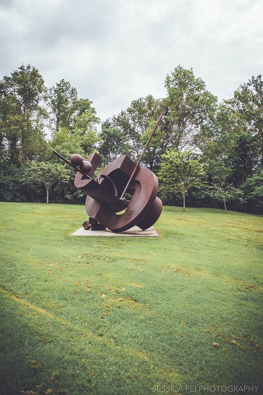 bronze brown sculpture laumeier park