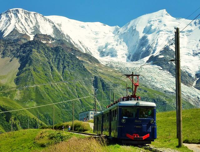 gervais les bains tramway du mont blanc au col de voza flickr photo