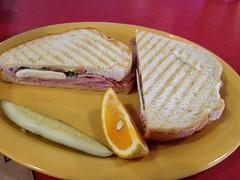 Caprese Panini, Erik's Delicafe #food #sandwich