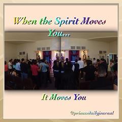 Sunday Praise: When The Spirit Moves You, It Moves You. It feels so good to be back :) www.princesdailyjournal.com #princeinthecity #princesdailyjournal #blessed #church #praise #pray #espiritusanto #holyspirit #dios #god #gospel #bible #love #peace #prai