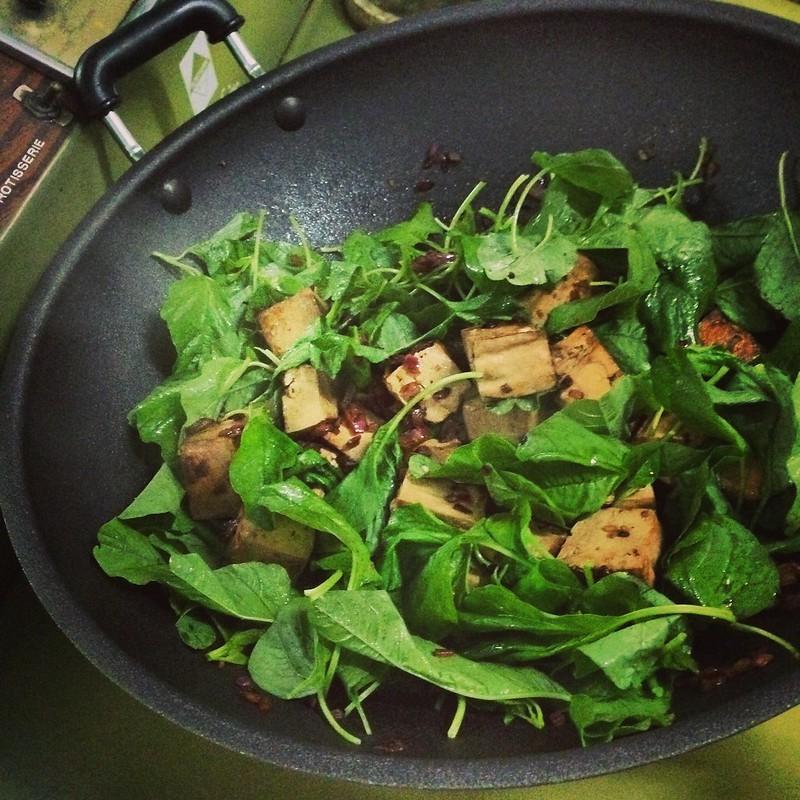 Stir-Fried Tofu Comfort Food