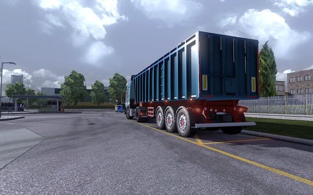 Szatmári Transport Mercedes Benz Actros MPIII