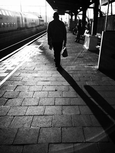 street morning white black station sunrise work photography google iphone snapseed