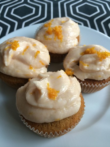 A celiac's kitchen_ new baking recipe orange creme cupcakes