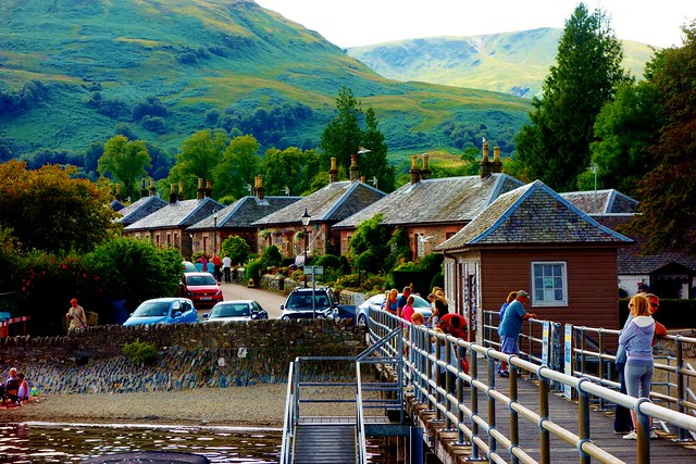Luss Village from Pier