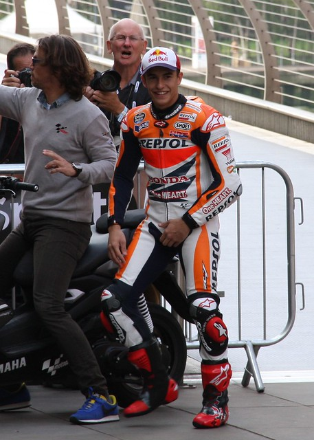 2014 BT Sport / Marc Marquez PR Stunt in London